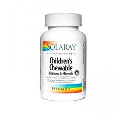 Children´s Chewable Vitaminas y Minerales Sabor Cereza