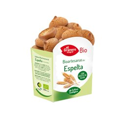 Galletas Artesanas de Trigo Espelta Bio