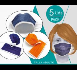 Mascarilla 3 Capas Reutilizable
