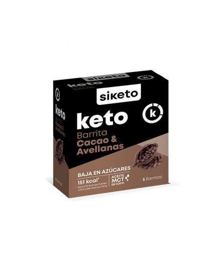 Barrita Cacao y Avellanas de Siketo