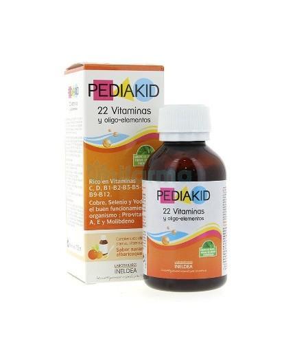 Pediakid 22 Vitaminas y Oligoelementos
