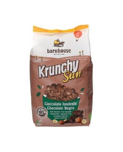 Muesli Krunchy Sun Chocolate Negro y Avellanas Bio