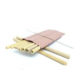 Pack Pajitas Bambú