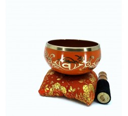 Cuenco Tibetano Caja Roja