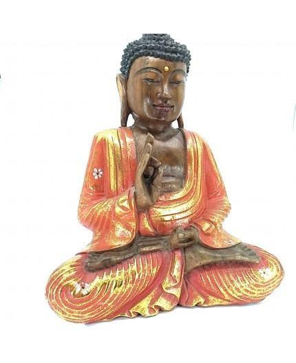 Budha Madera Pintado