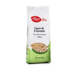 Copos de 5 cereales Bio