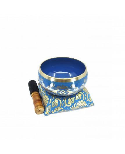 Cuenco Tibetano Caja Azul