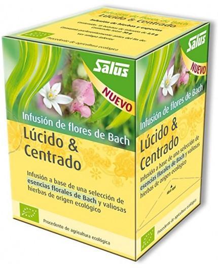 Infusión Flores Bach Lúcido & Centrado
