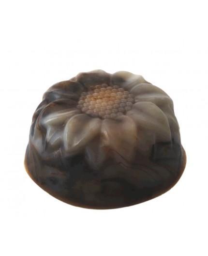 Jabón Exfoliante de Chocolate y Almendras Ecológico