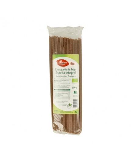 Espaguetis de Trigo Espelta Integral Bio