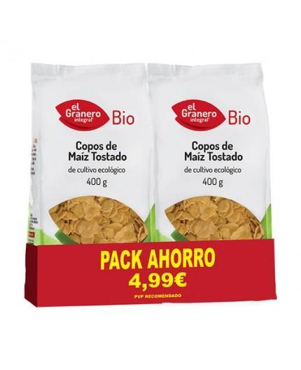 Pack 2 Copos De Maiz Tostados