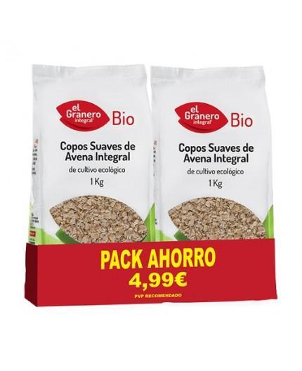 Pack 2 Copos Suaves De Avena Integral Bio