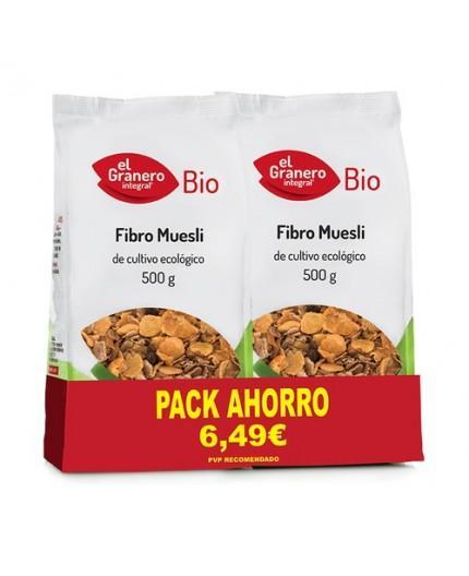Pack 2 Fibro Muesli Bio