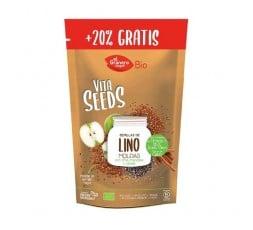 Vitaseeds Semillas De Lino Chia Manzana Canela Bio