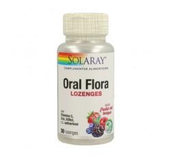 Oral Flora Sabor Frutas Del Bosque