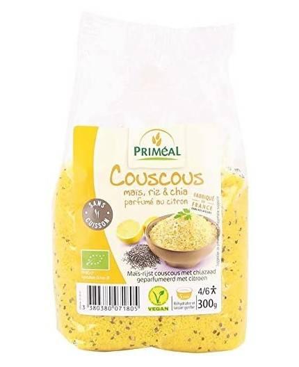Cous Cous de Maíz, Arroz y Chia al Limón