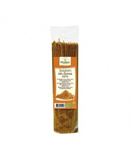 Espaguetti con Quinoa y Curry