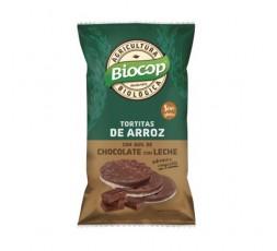 Tortitas de Arroz con Chocolate con Leche