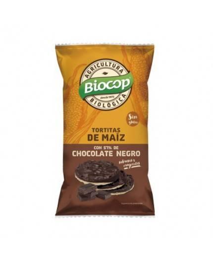 Tortitas de Maíz con Chocolate Negro