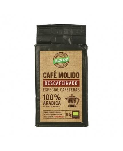 Café Molido 100% Arábica Descafeinado