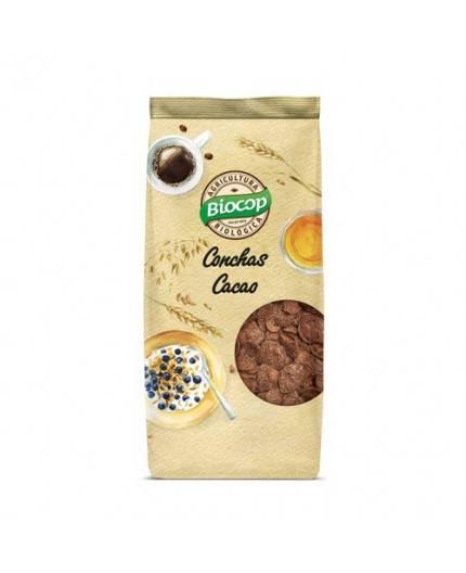 Conchas Crujientes De Cereales Con Chocolate