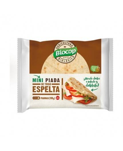 Piadina Mini De Trigo Espelta