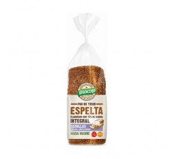 Pan de Molde Trigo Espelta Integral con Semillas de Girasol, Lino y Sésamo