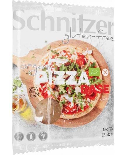 Base De Pizza De Maíz Bio sin Gluten