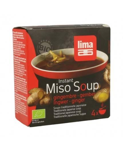 Sopa Miso Jengibre