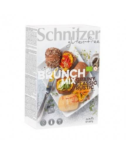 Panecillos Brunch Mix Sin Gluten