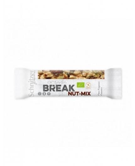 Pack de Barritas Break Mezcla de Frutos Secos Sin Gluten
