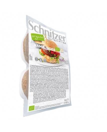 Pan de 4 Hamburguesas Bio Sin Gluten