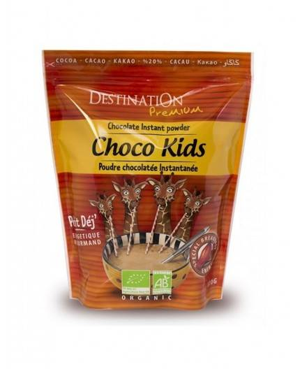 Cacao Choco Kids 20% Con Cereales Bio