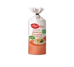 Tortitas de arroz con cúrcuma y pimienta Bio
