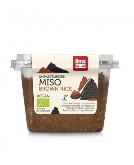 Miso De Soja Y Arroz Integral No Pasteurizado