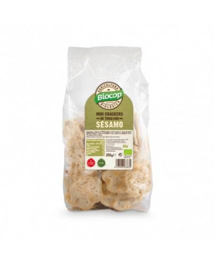 Crackers Mini De Trigo Con Sésamo