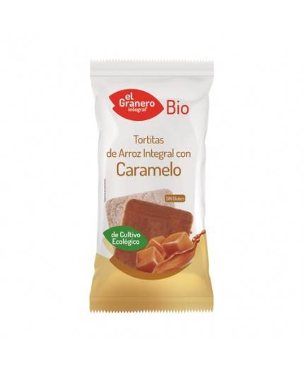 Tortitas De Arroz Con Caramelo
