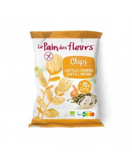 Chips De Lentejas Y Cebolla