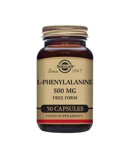 L-Fenilalanina 500 mg.