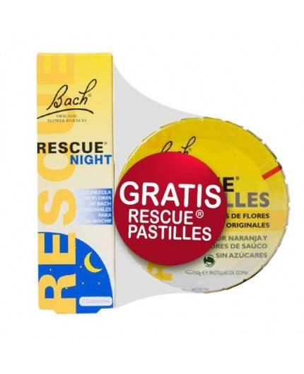 Flores de Bach Rescue Night Gotas + Regalo Rescue Pastillas