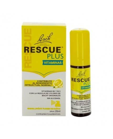 Rescue Spray De Flores de Bach Plus Vitaminas