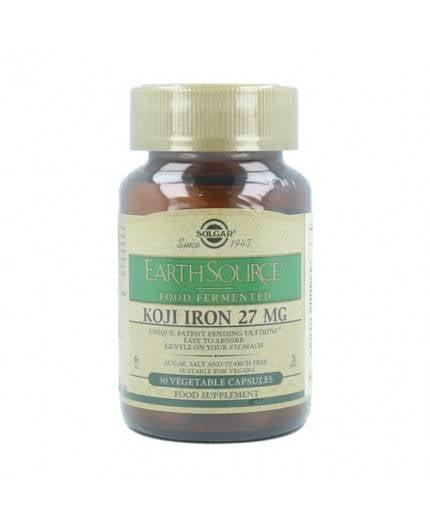 Earth Source Koji Iron Food Fermented 27 mg -