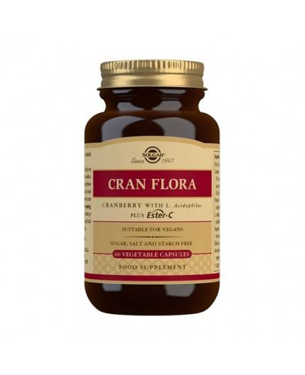 Cran Flora (Arándano Rojo con Probióticos y Ester-C)