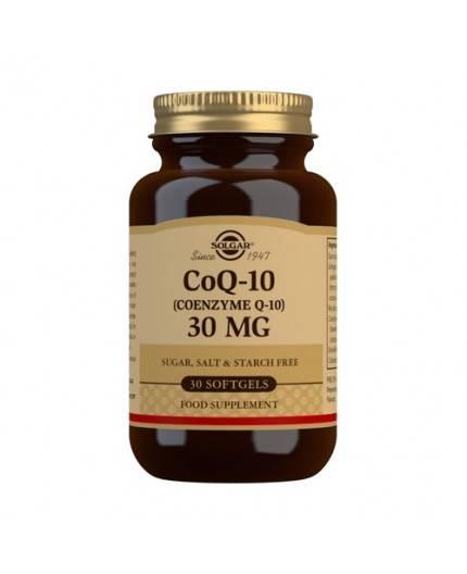 Coenzima CoQ10 30 mg.