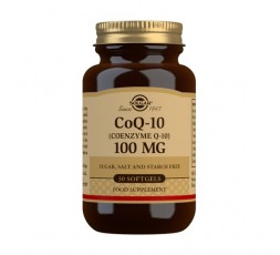 Coenzima CoQ10 100 mg. en Aceite