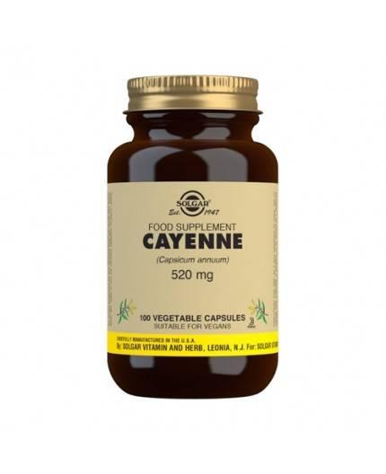 Cayena 520 mg (Capsicum annuum)