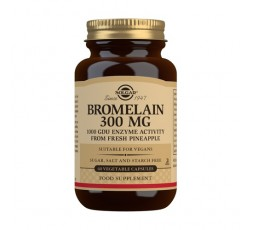 Bromelina 300 mg.