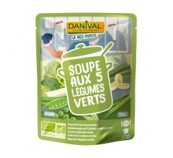 Sopa De 5 Verduras Verdes