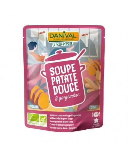 Sopa De Batata (Boniato) Y Jengibre