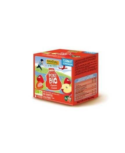 Pack De 8 Smoothies De Manzana Y Fresa Bio
